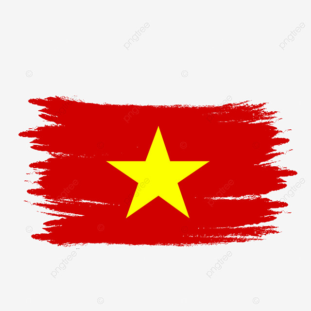 Vietnam Flag Transparent Watercolor Painted Brush Vietnam Vietnam Flag Vietnam Flag Vector Png Transparent Clipart Image And Psd File For Free Download
