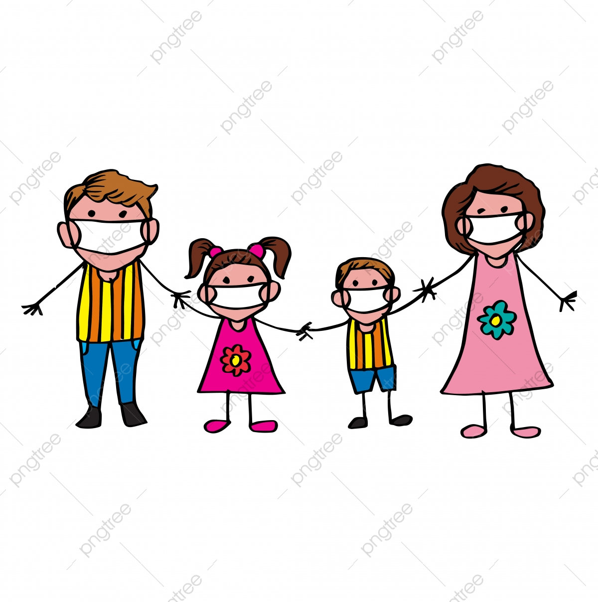 Cartoon Family Png Images Vector And Psd Files Free Download On Pngtree