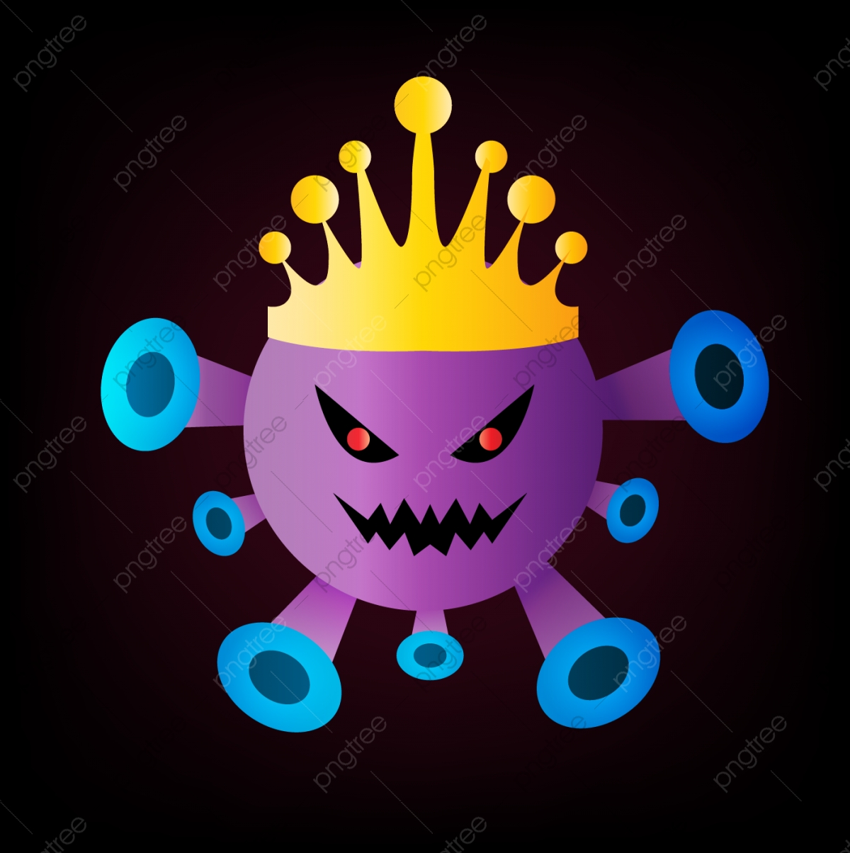 Crown King Covid 19 Corona Virus, Crown Icons, King Icons, Crown PNG and  Vector with Transparent Background for Free Download