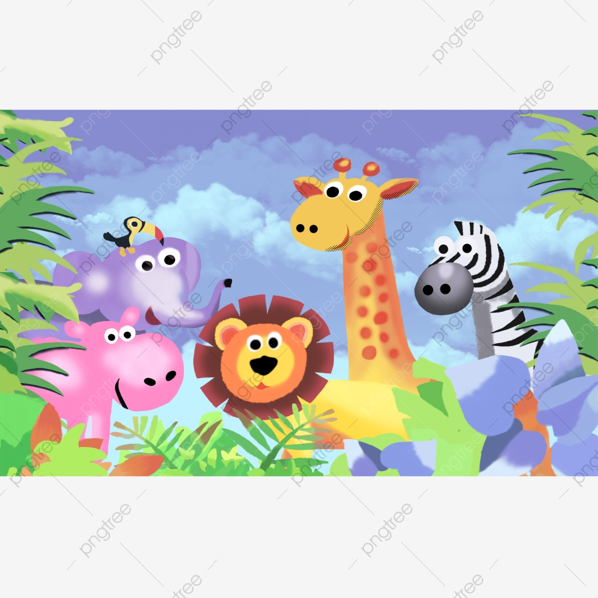 Safari Png Images Vector And Psd Files Free Download On Pngtree Thousands of new elephant png image resources are added every day. https pngtree com freepng family safari happy 5337116 html