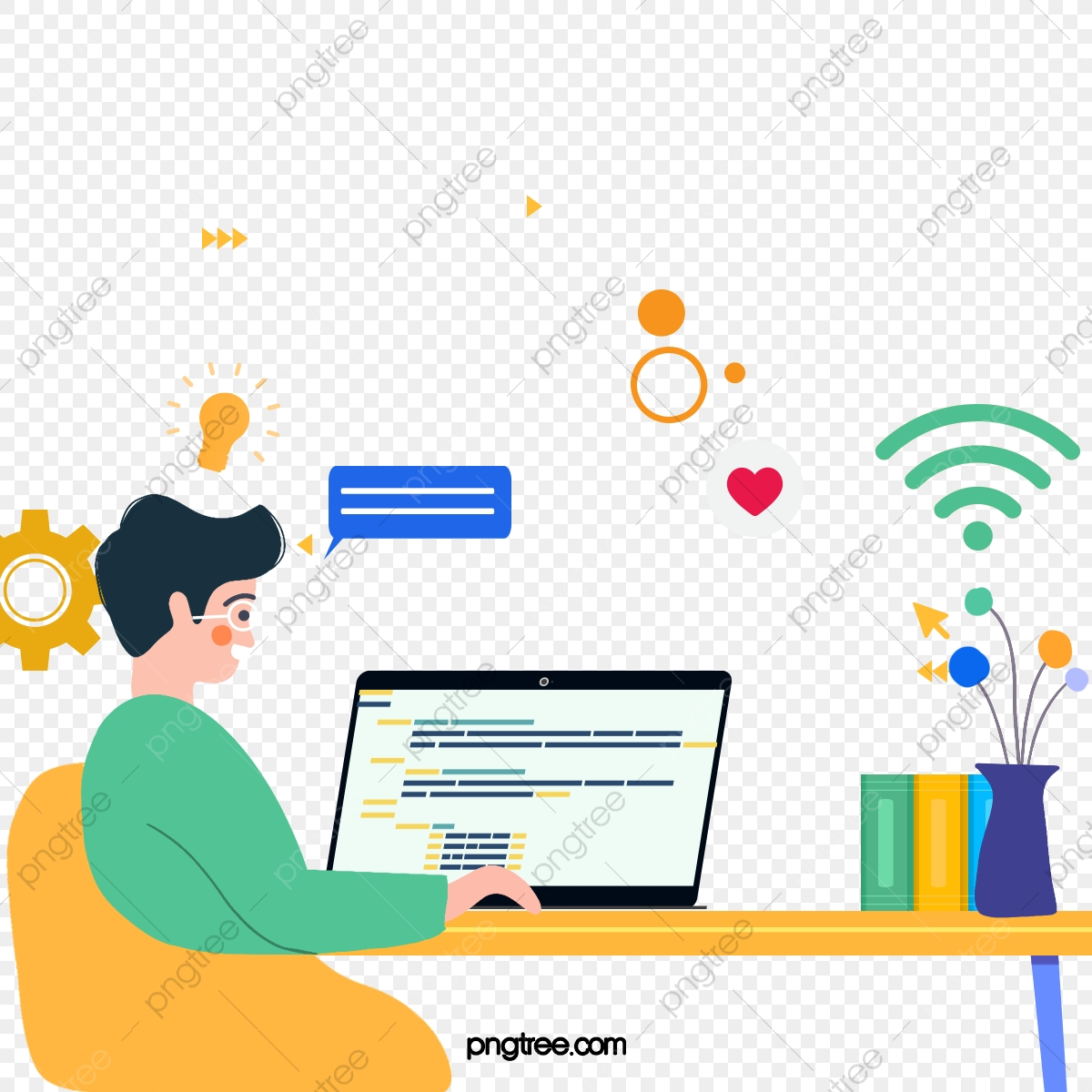Online Learning Png Images Vector And Psd Files Free Download On Pngtree