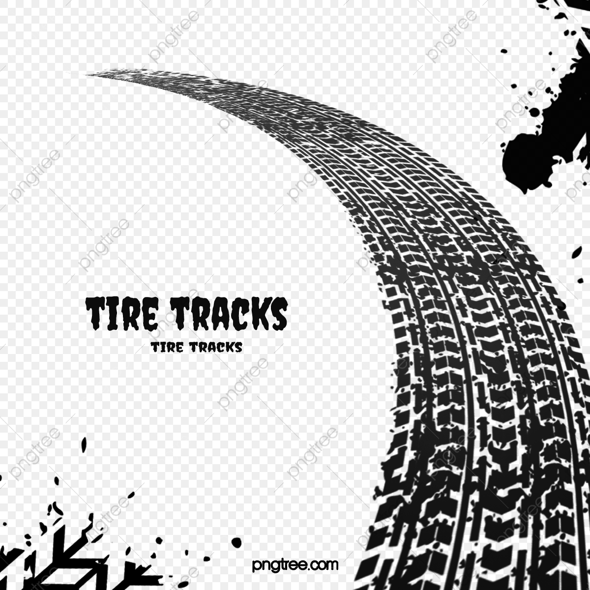 Tire Tracks Png Images Vector And Psd Files Free Download On Pngtree