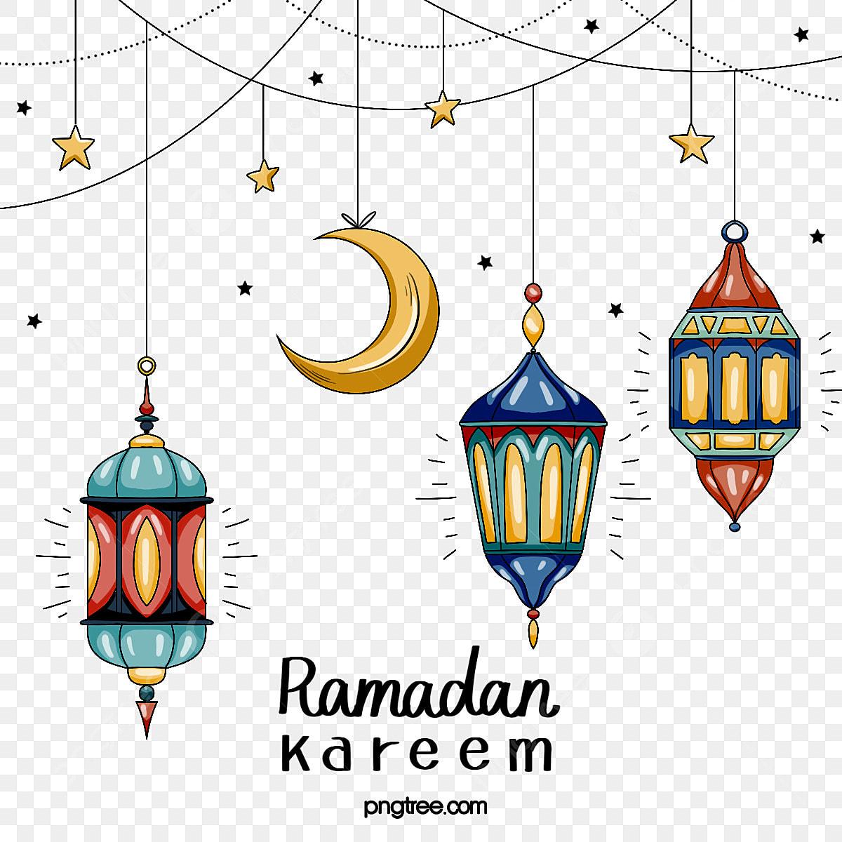Line Ramadan Ramadan Perayaan Lucu Ramadan Bintang Bintang