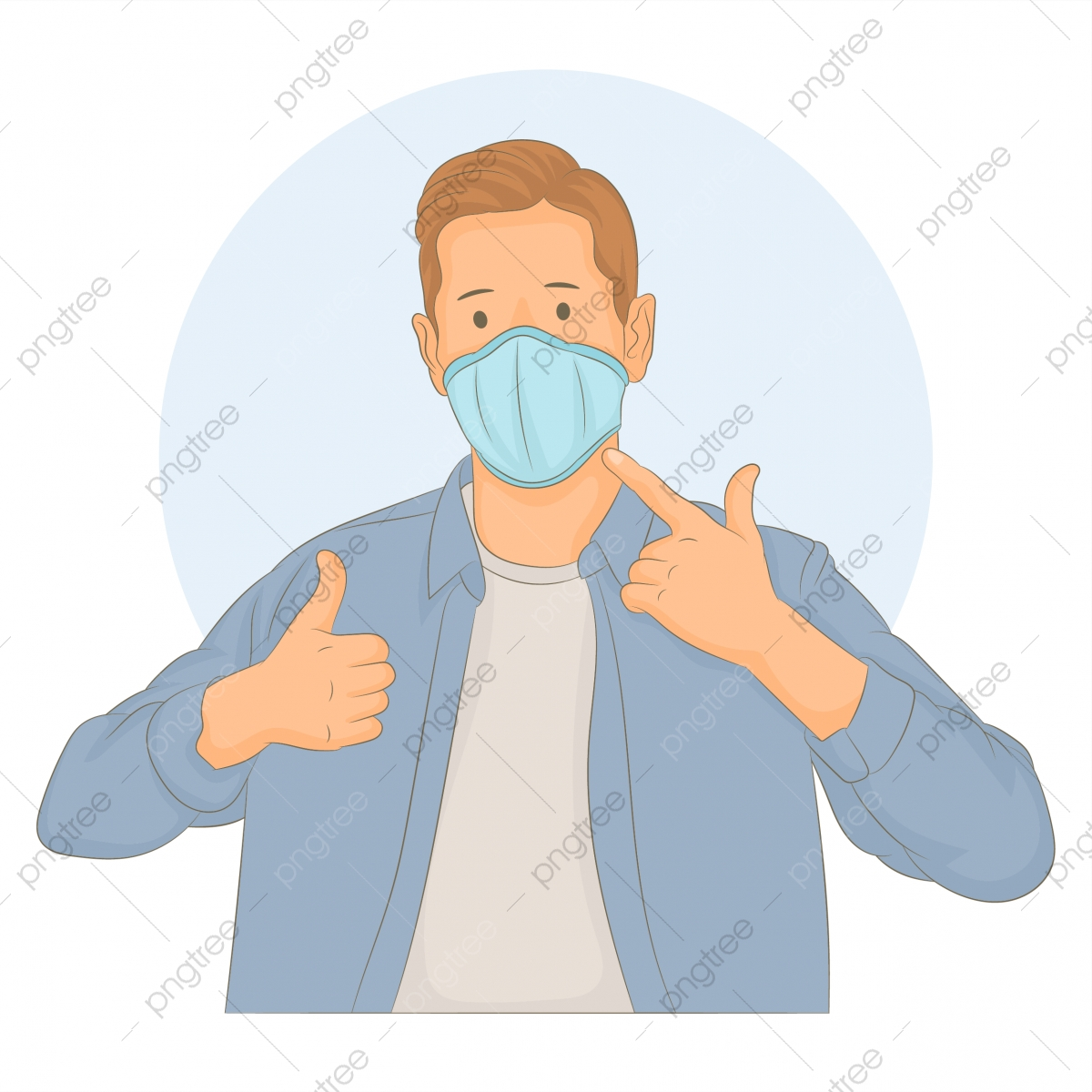 thumb png images vector and psd files free download on pngtree https pngtree com freepng man wearing medical mask on face and make sign thumb up 5341437 html