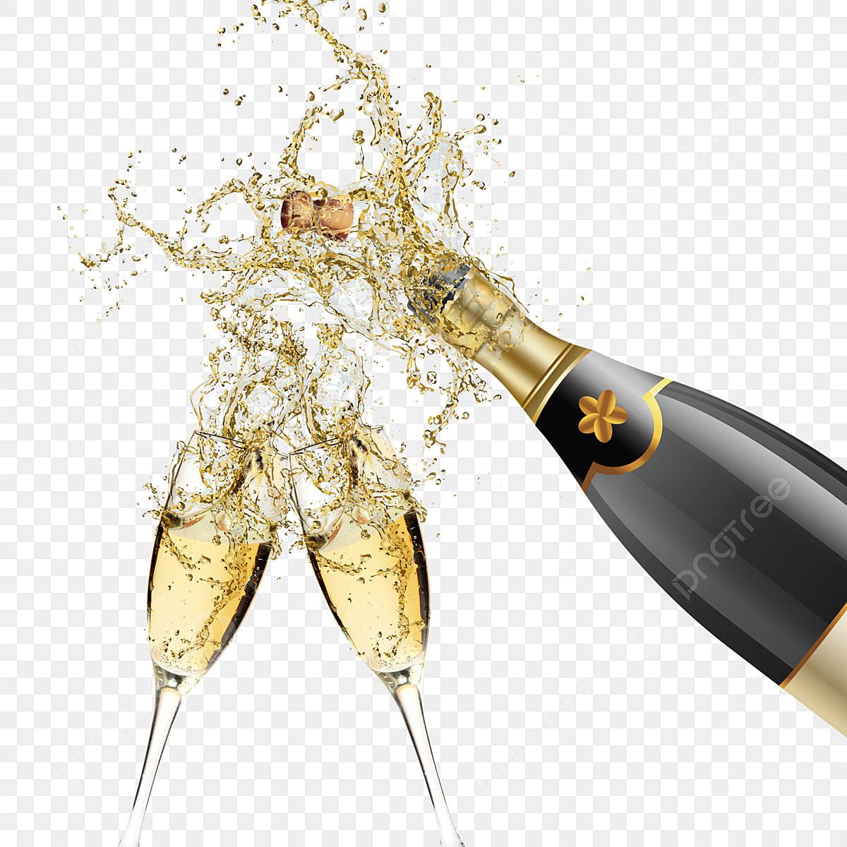 Champagne Celebration Clipart