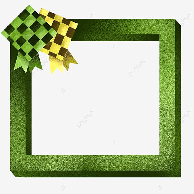 gambar bingkai tebal dan ilustrasi ketupat bingkai yang berani bingkai hijau png dan psd untuk muat turun percuma bingkai tebal dan ilustrasi ketupat