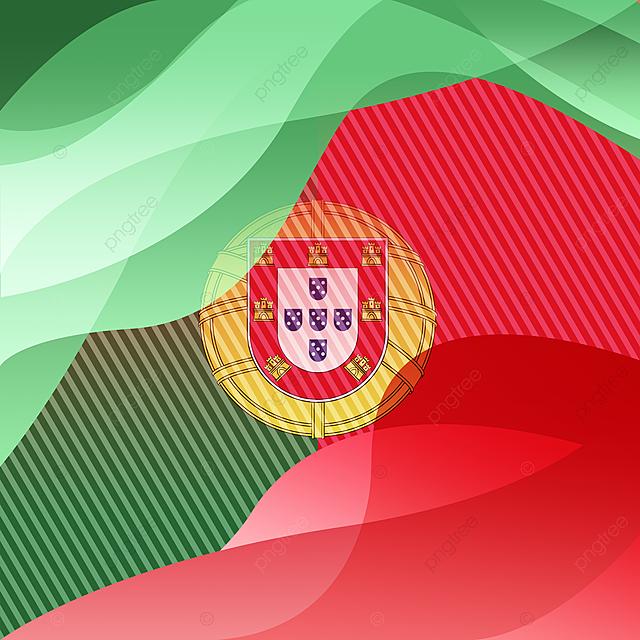 Bandeira De Portugal De Gradiente Colorido Dos Desenhos Animados Deslumbrar Desenho Animado Gradiente Imagem Png E Psd Para Download Gratuito