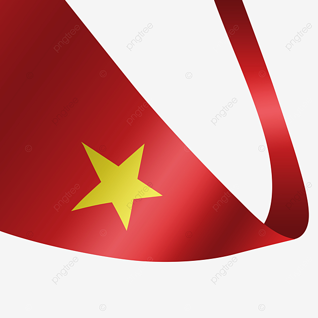 Gradient Red Vietnam Flag Streamer Gradient Red Vietnam Png Transparent Clipart Image And Psd File For Free Download