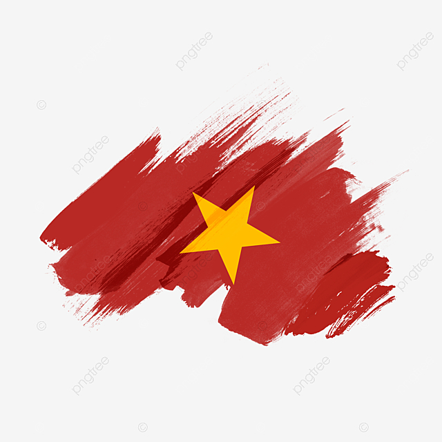 Gradient Vietnam Flag Brush Vietnam National Flag Brush Png Transparent Clipart Image And Psd File For Free Download