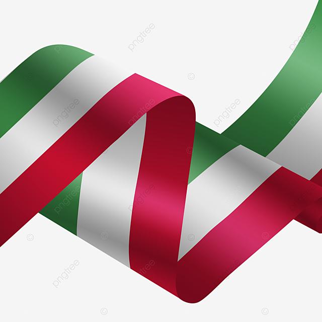 Bendera Itali Berwarna Pita Berkibar Itali Bendera Warna Gambar Png Dan Psd Untuk Muat Turun Percuma