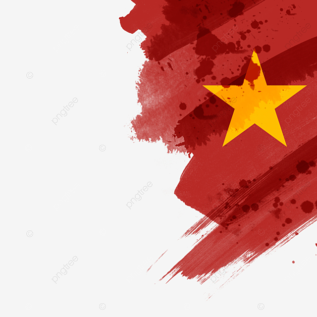 Red Brush Effect Vietnam Flag Red Brush Vietnam Png Transparent Clipart Image And Psd File For Free Download