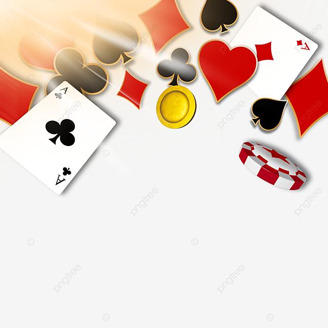 Gambar Kad Permainan Tiga Dimensi Yang Dihiasi Sempadan Cahaya Kad Grafik Poker Rangka Png Dan Psd Untuk Muat Turun Percuma
