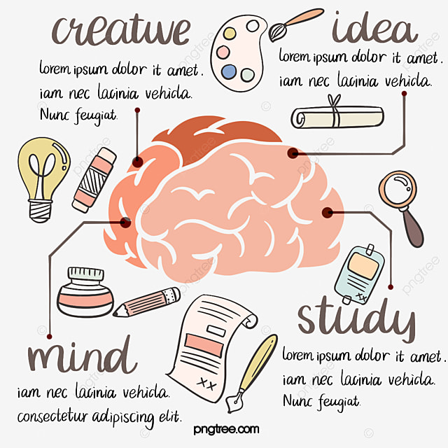line cute brain divergent thinking element brain line education png transparent clipart image and psd file for free download line cute brain divergent thinking