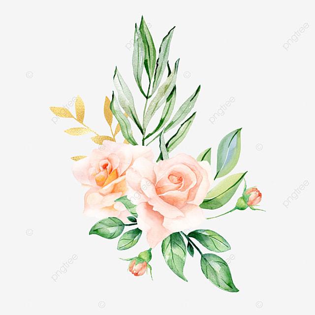 Bunga Cat Air Buket Bunga Pernikahan Cat Air Png Transparan Gambar Clipart Dan File Psd Untuk Unduh Gratis