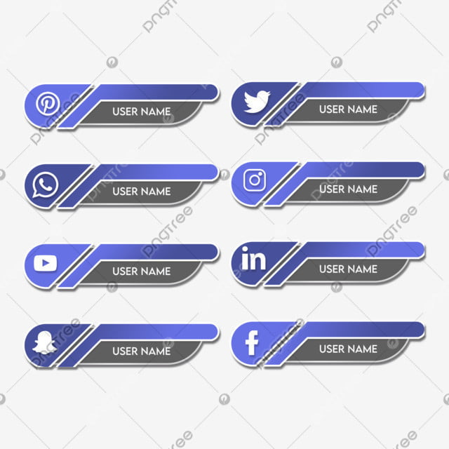 Flat Social Media Icons Set Design Icons Social Media Flat Png Transparent Clipart Image And Psd File For Free Download