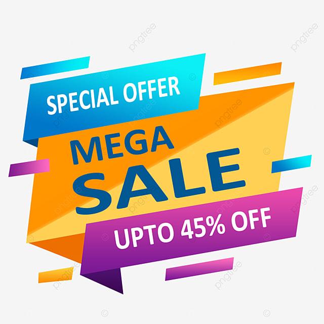 Vektor Promosi Penjualan Mega Perbelanjaan Slogan Promosi Png Transparan Gambar Clipart Dan File Psd Untuk Unduh Gratis