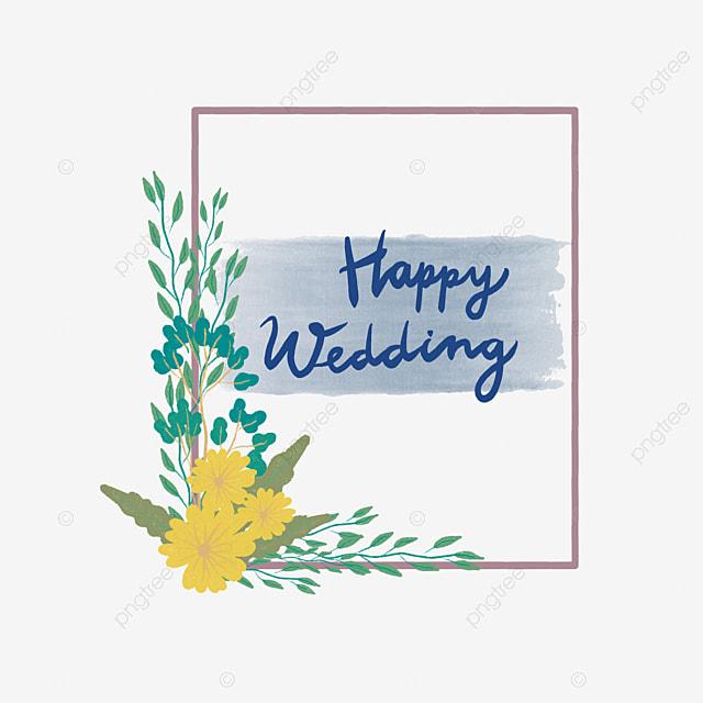 Gambar Kartu Ucapan Selamat Pernikahan Dalam Bingkai Bunga Selamat Menikah Selamat Bingkai Bunga Png Transparan Clipart Dan File Psd Untuk Unduh Gratis