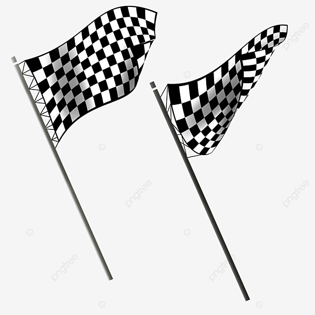 Technology Style Wind Racing Banner Winner Sports Black And White Flag Png Transparent Clipart Image And Psd File For Free Download