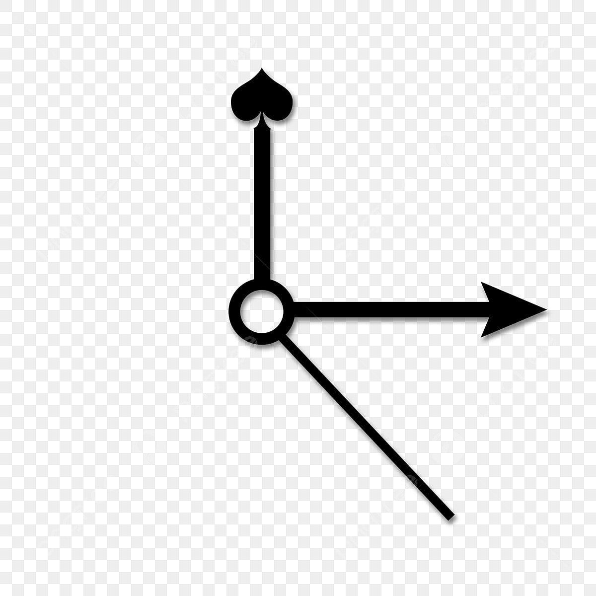 Puntero Negro, Puntero Negro, Manecillas Del Reloj, Reloj PNG y PSD para  Descargar Gratis | Pngtree