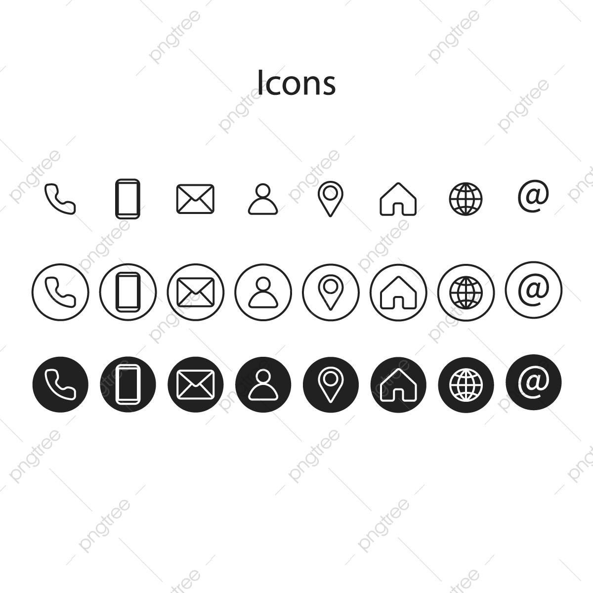 Contact Icon Png Images Vector And Psd Files Free Download On Pngtree