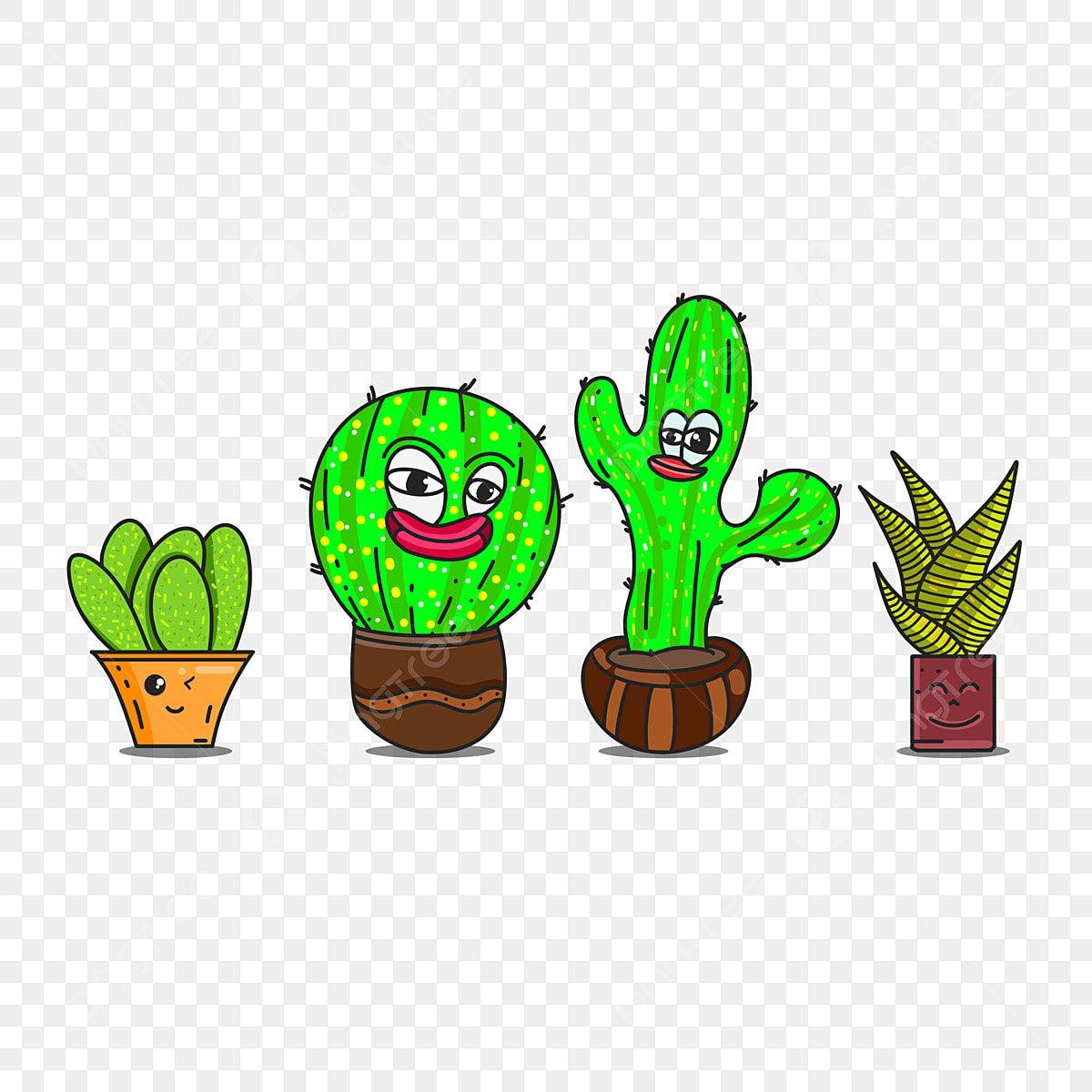 Gambar Ilustrasi Kaktus Png Vektor Psd Dan Clipart Dengan Latar Belakang Transparan Untuk Download Gratis Pngtree