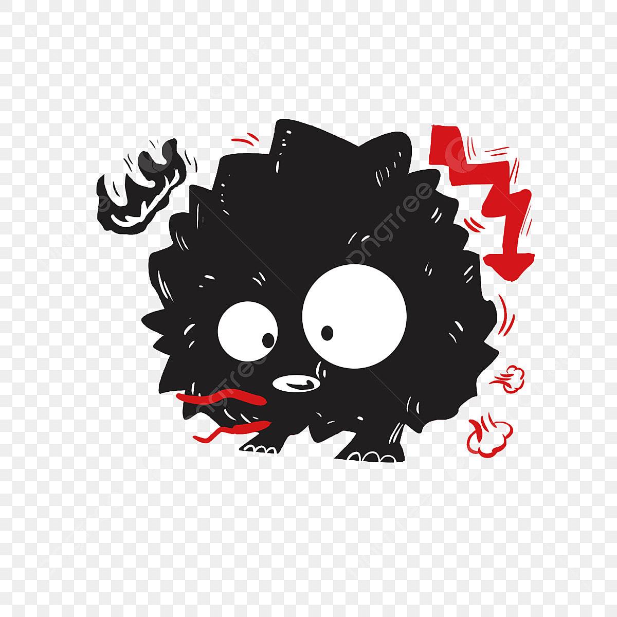 Herisson Mignon Dessine A La Main De Dessin Anime Peinte A La Main Dessin Anime Charmant Fichier Png Et Psd Pour Le Telechargement Libre