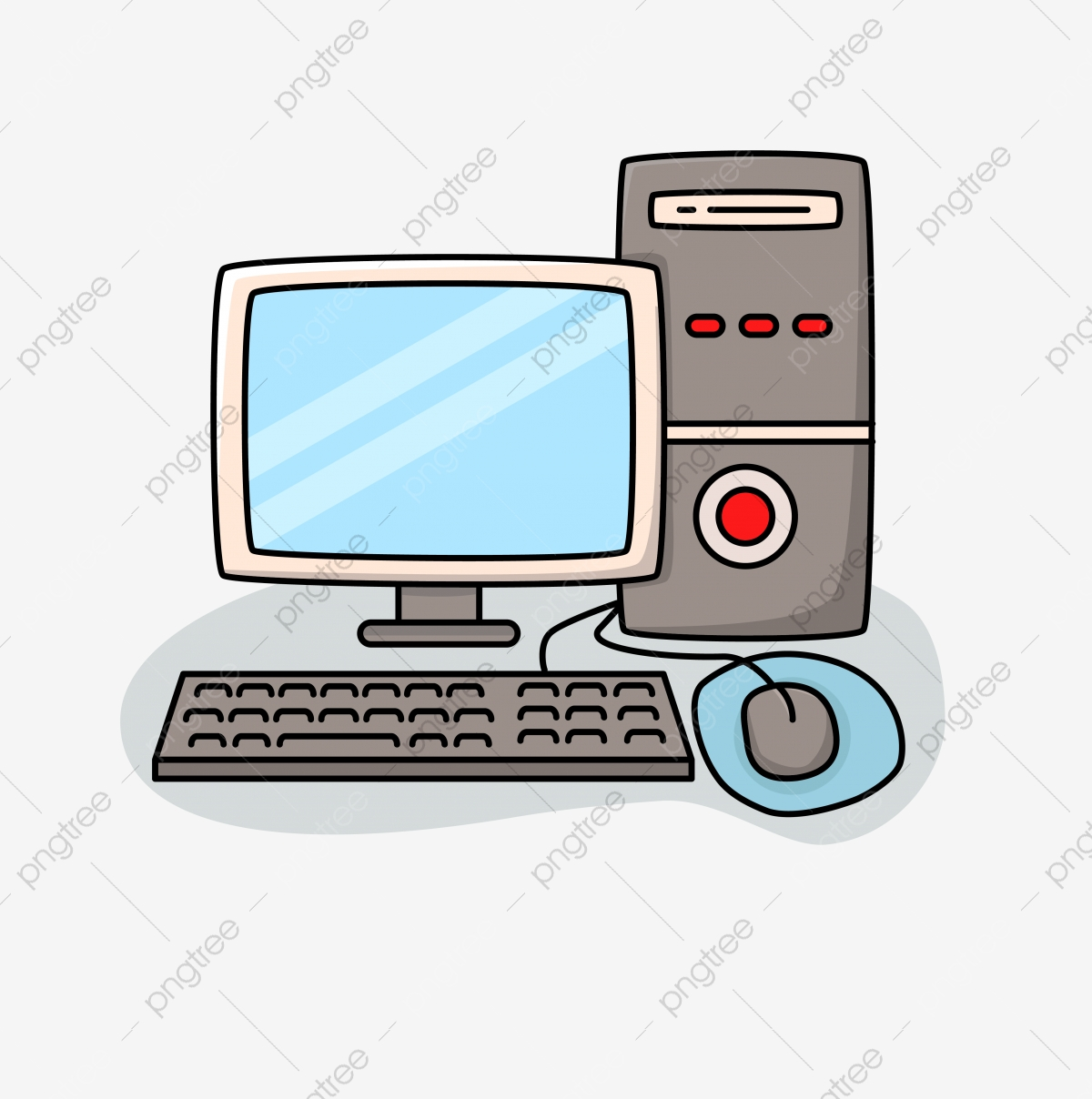 Computer Clipart Png Images Vector And Psd Files Free Download On Pngtree