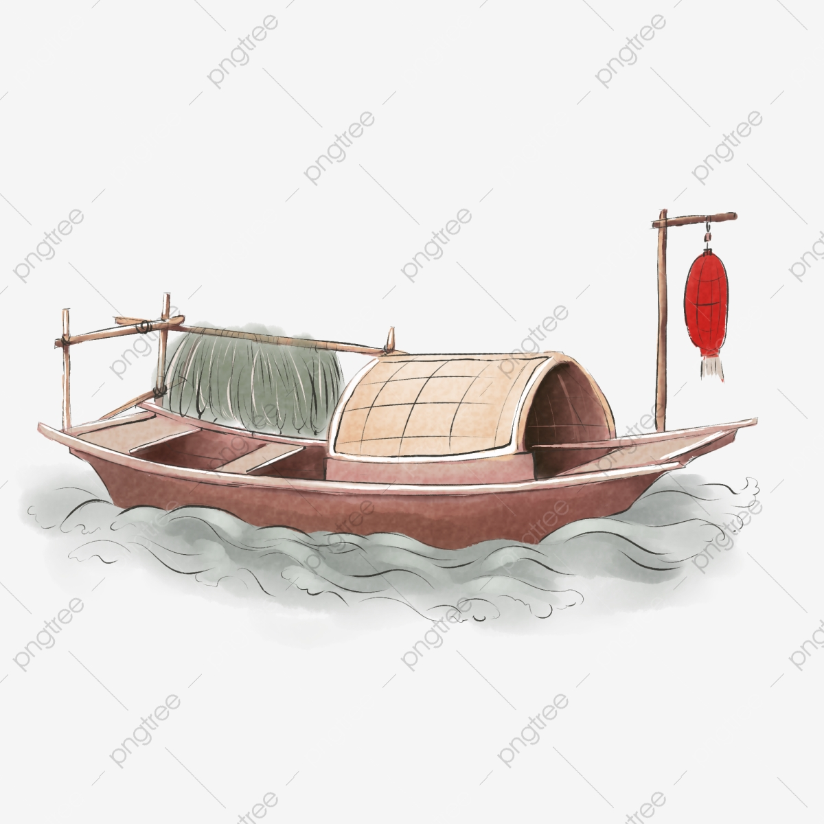 Ink Fishing Boat Fishing Boat Ships Wooden Boat Png Transparent Clipart Image And Psd File For Free Download