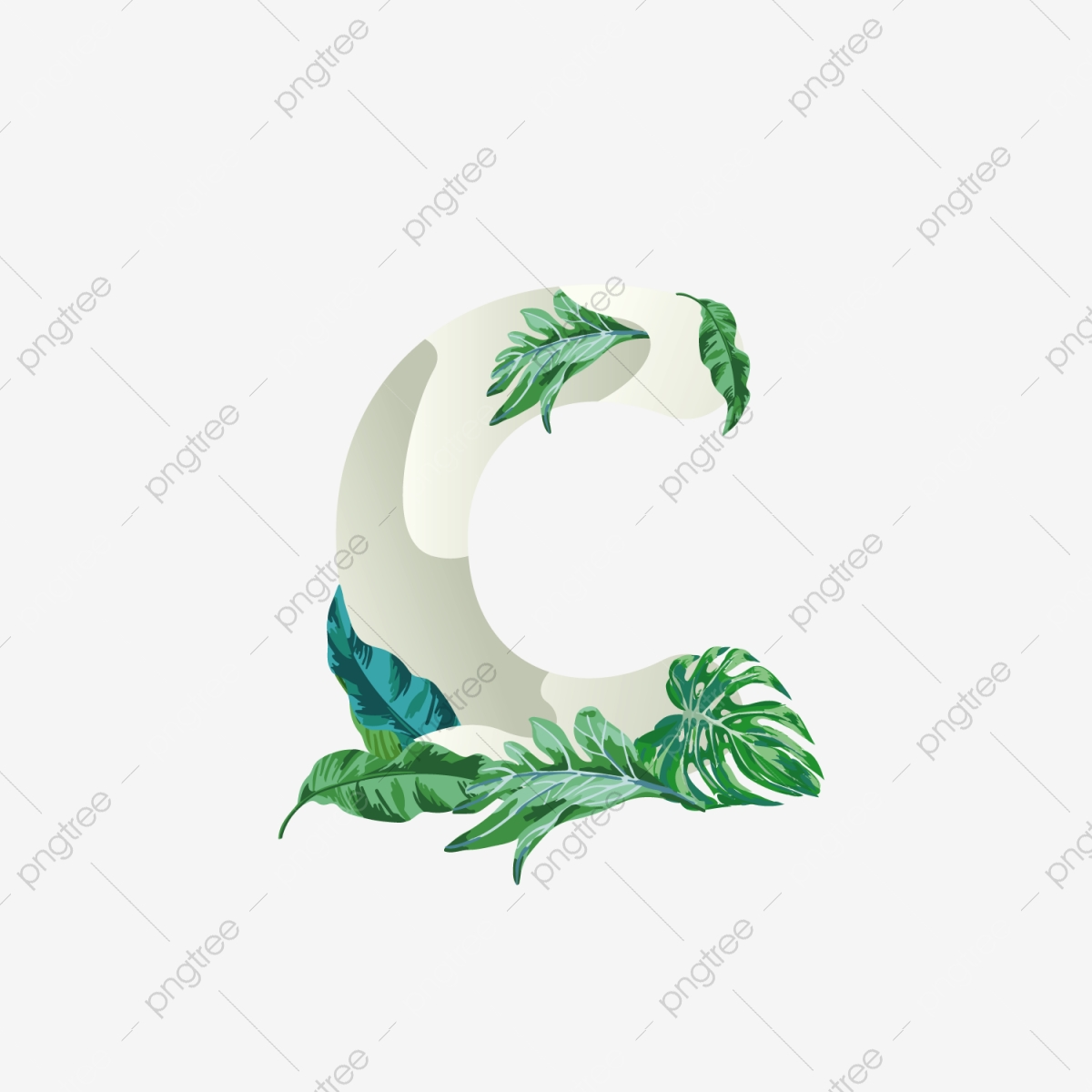 leaves ornament png images vector and psd files free download on pngtree https pngtree com freepng letter c initial logo element with tropical leaves ornament 5386311 html