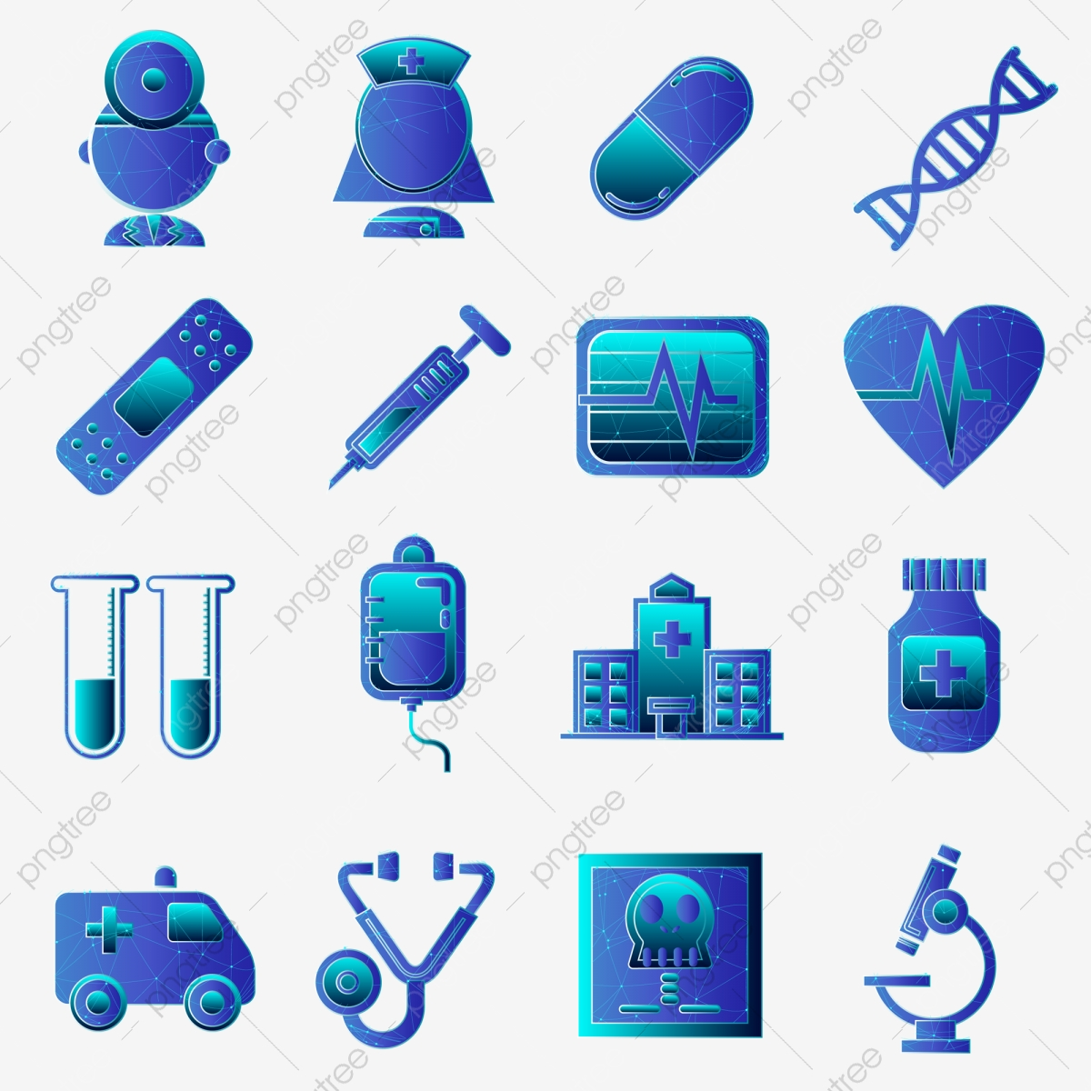 Biomedical Technology Clipart Background