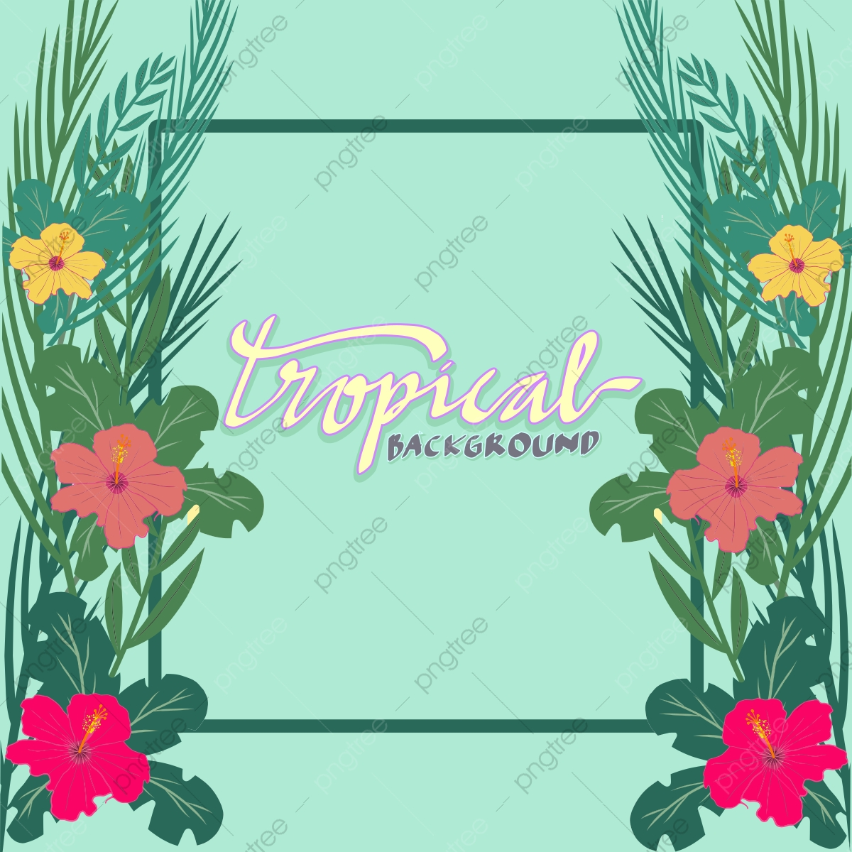 Tropical Frame Leaves With Flowers Background Nature Theme Tropical Leaves Flowers Png And Vector With Transparent Background For Free Download Download and share awesome cool background hd mobile phone wallpapers. https pngtree com freepng tropical frame leaves with flowers background nature theme 5386694 html