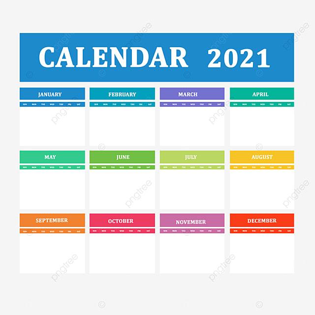 Meilleure Conception Du Calendrier 2021, Calendrier, Date, An