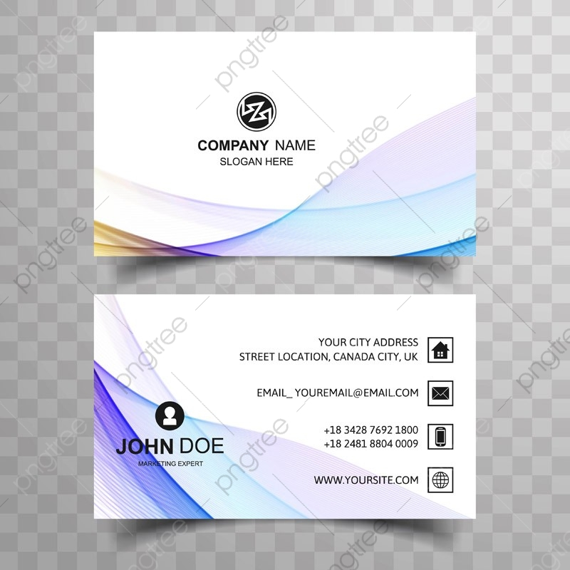 Company Line Card Template from png.pngtree.com