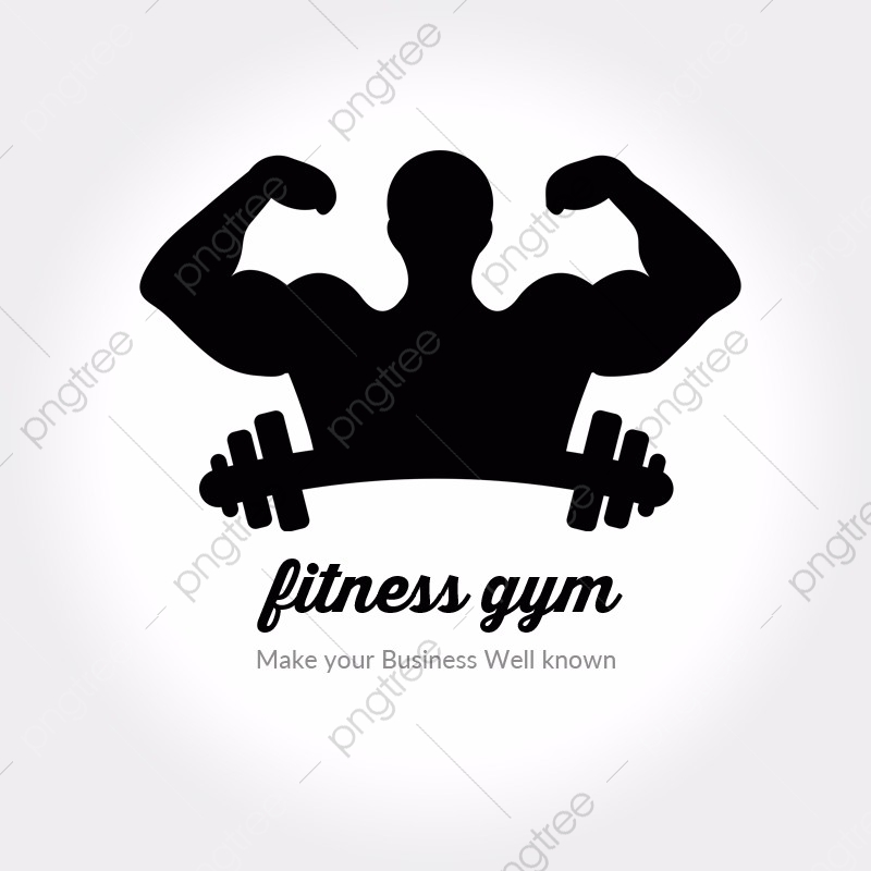 Body Shape Fitness Logo Template For Free Download On Pngtree