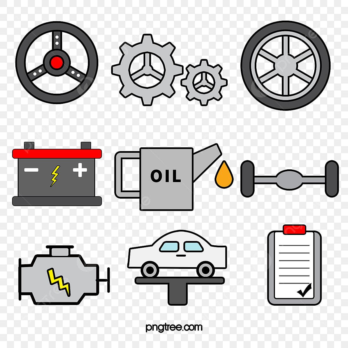 Car Accessories Png - Car Parts Clipart (#3399037) - PikPng
