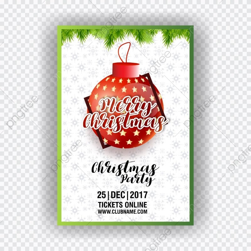 Christmas Ticket Template Download On Pngtree
