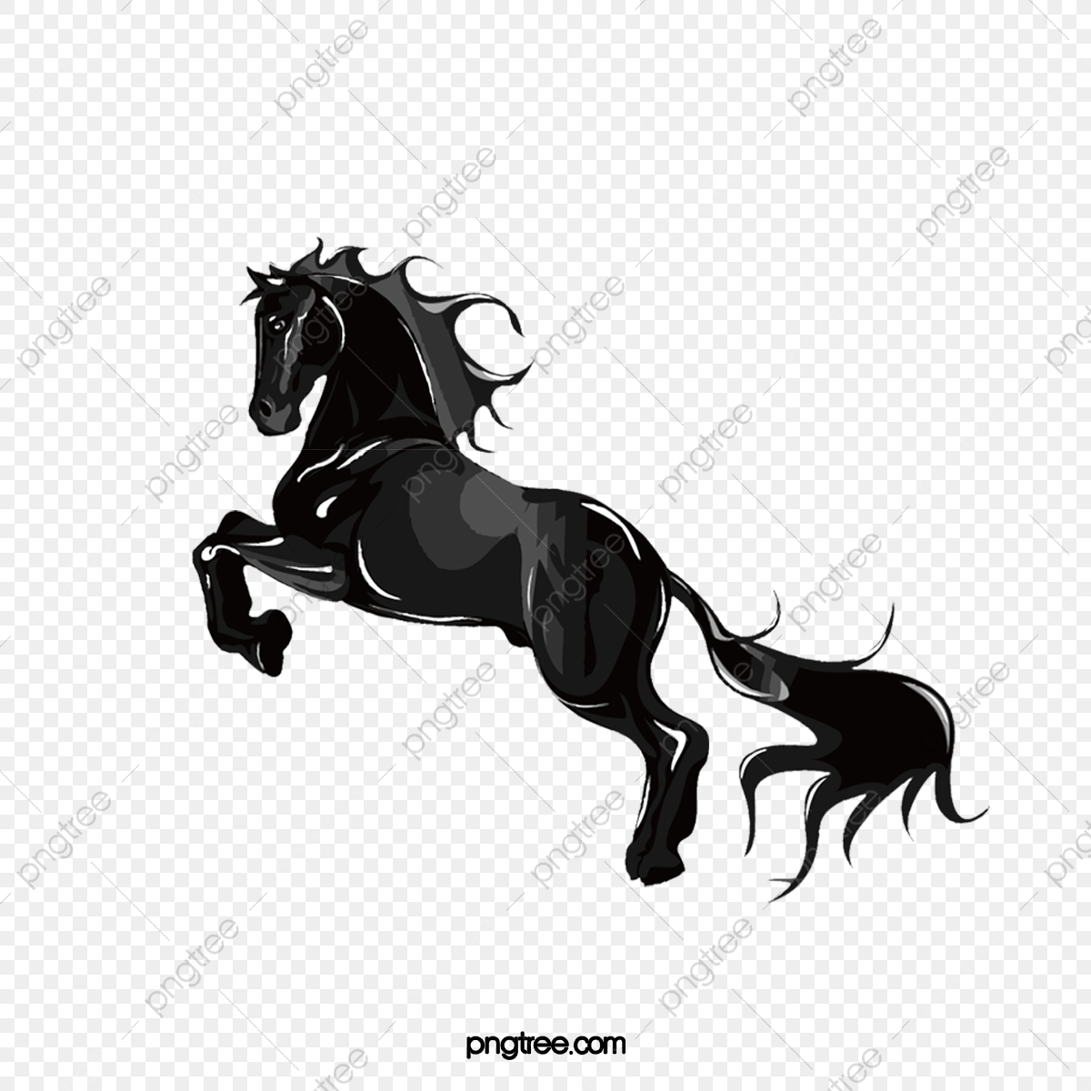 Dark Horse Png Images Vector And Psd Files Free Download On Pngtree