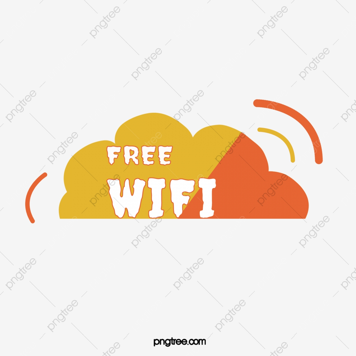 Free Wifi Sign Material Sign Clipart Free Wifi Creative Free Wifi Png Transparent Clipart Image And Psd File For Free Download