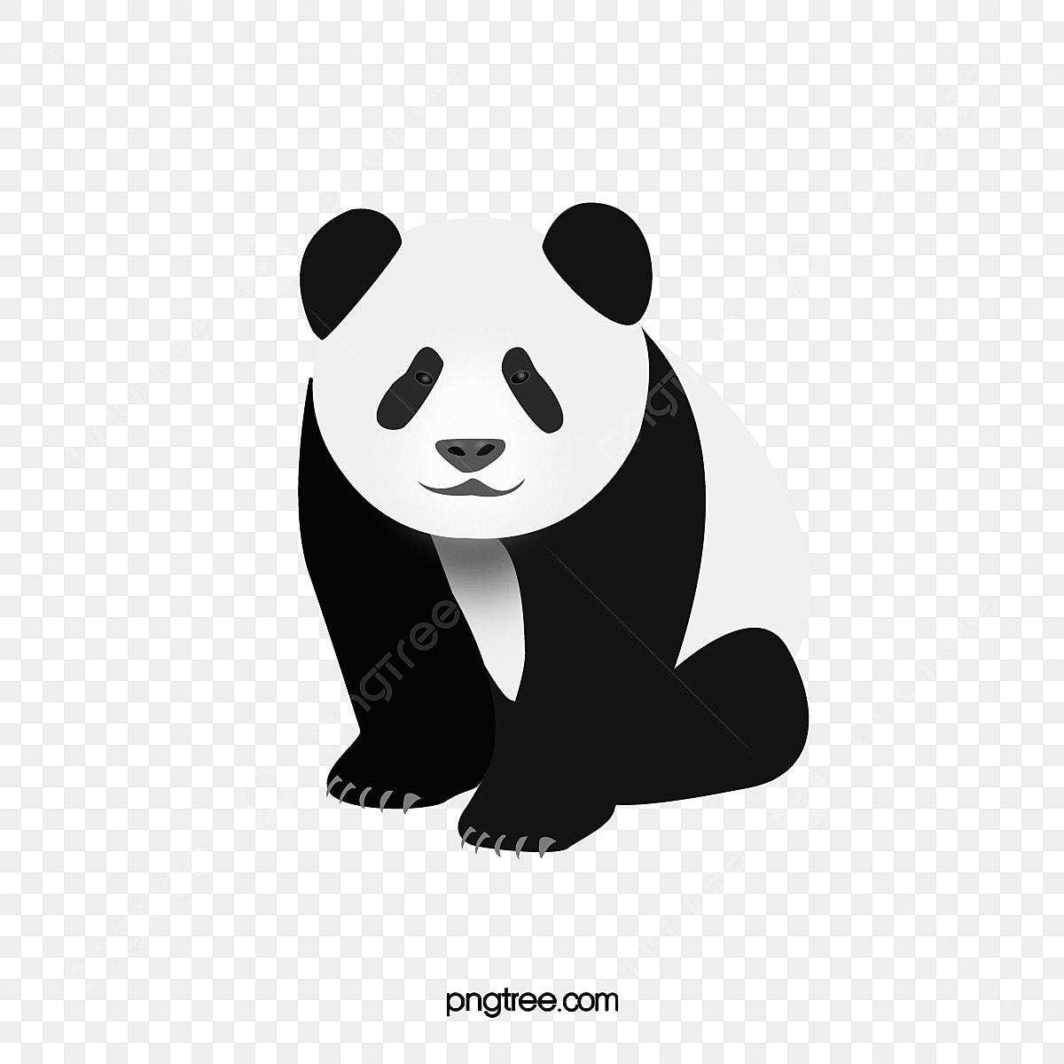 Free Panda Clipart Panda Clipart Images Panda Face - Panda Stencil - Png  Download (#117964) - PinClipart