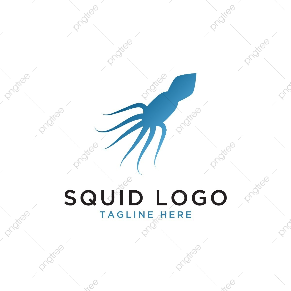 squid logo design template template for free download on pngtree squid logo design template template for