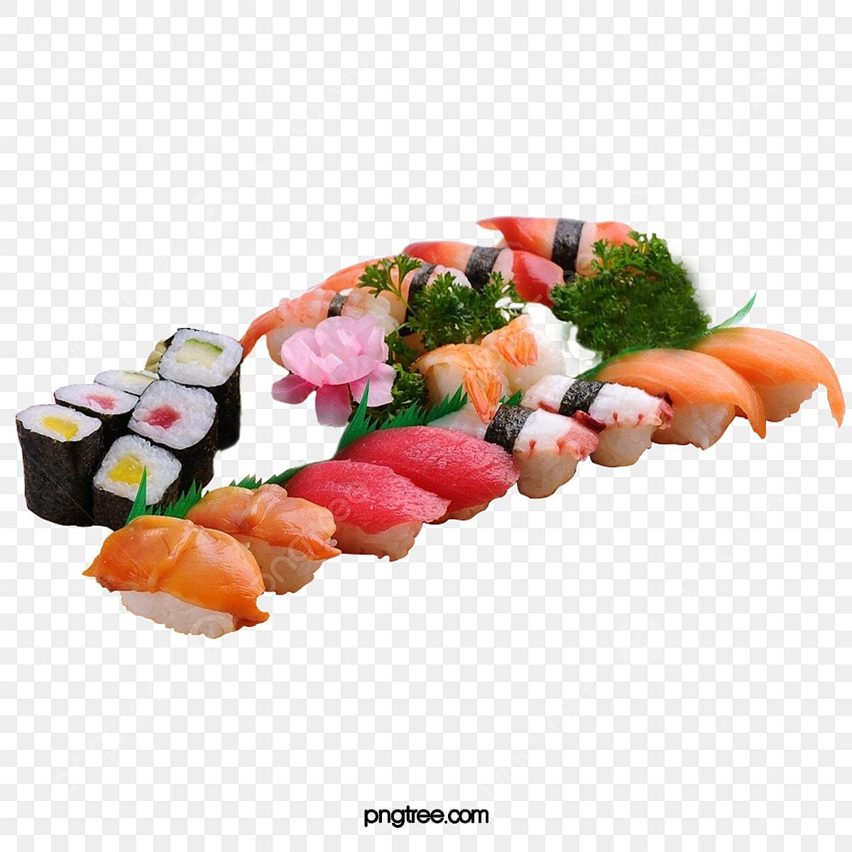 Sushi-japanische Küche Makizushi Meeresfrüchten Clip-art - Sushi  Transparente PNG png herunterladen - 600*432 - Kostenlos transparent Küche  png Herunterladen.