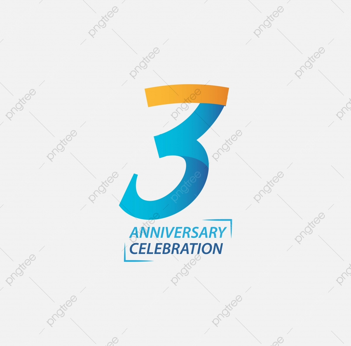 3 Anniversary Png Images Vector And Psd Files Free Download On Pngtree