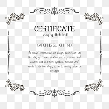 certificate border png images vector and psd files free download on pngtree certificate border png images vector