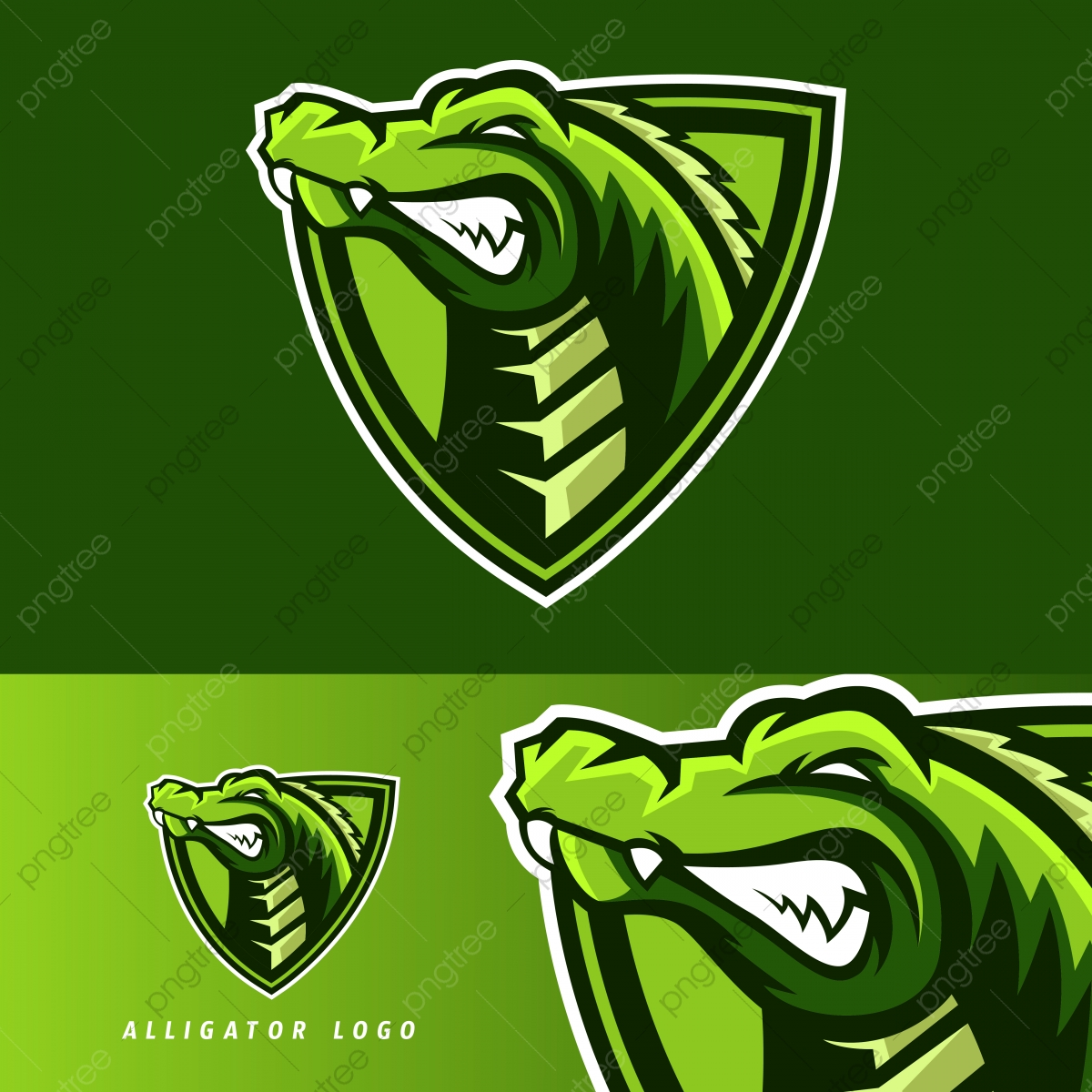 Alligator Esport Gaming Mascot Logo Template Template Download On Pngtree