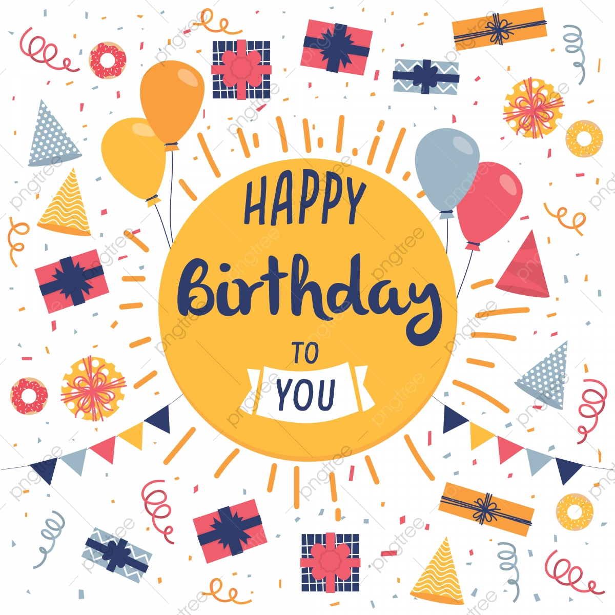 Template For Birthday Card from png.pngtree.com