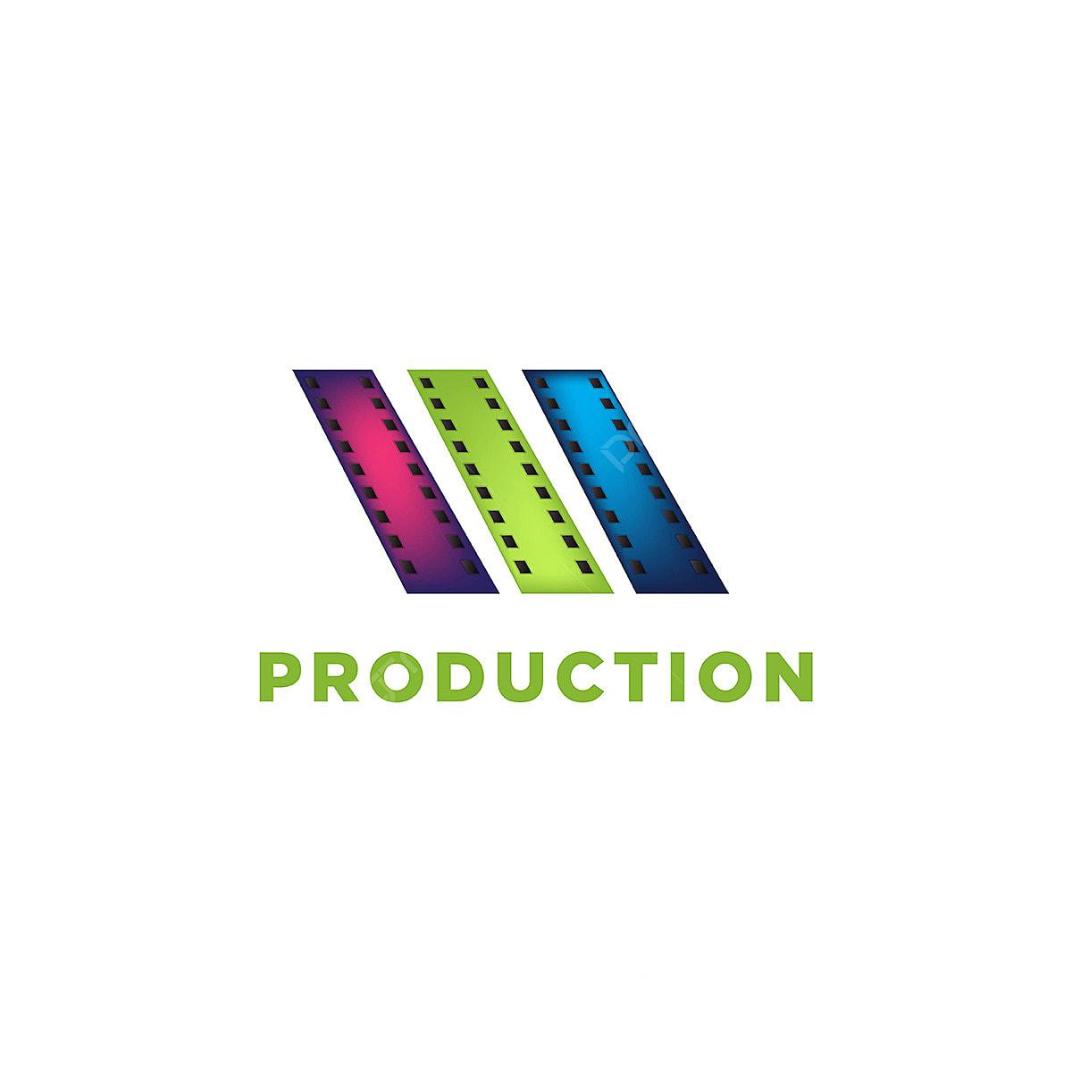 Film logo design template vector isolated illustration.