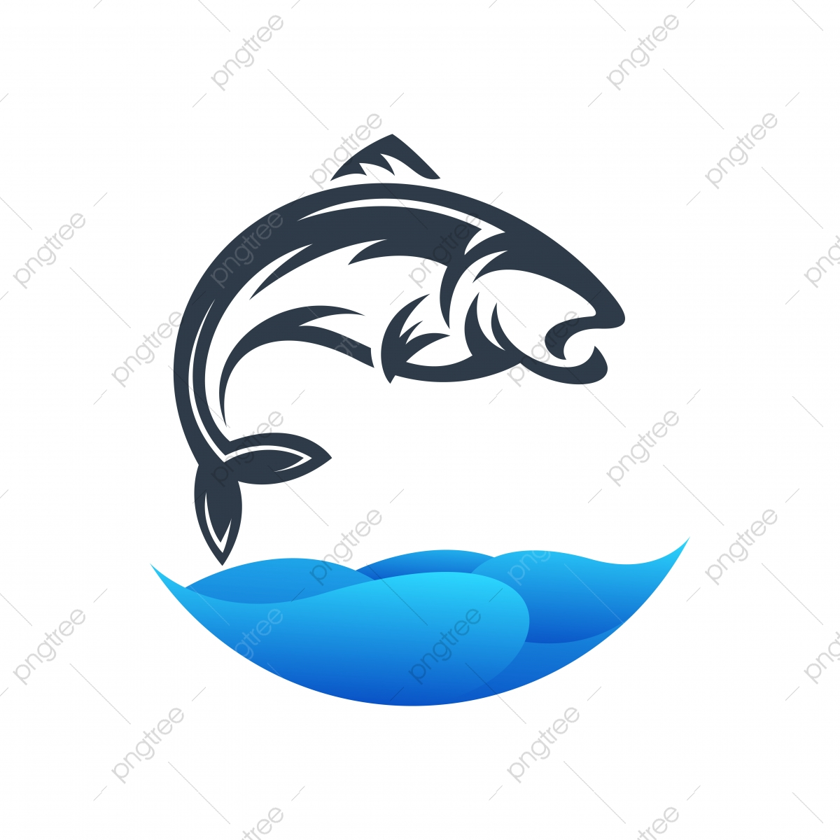 Fish Logo Design Ready To Use Template Download On Pngtree