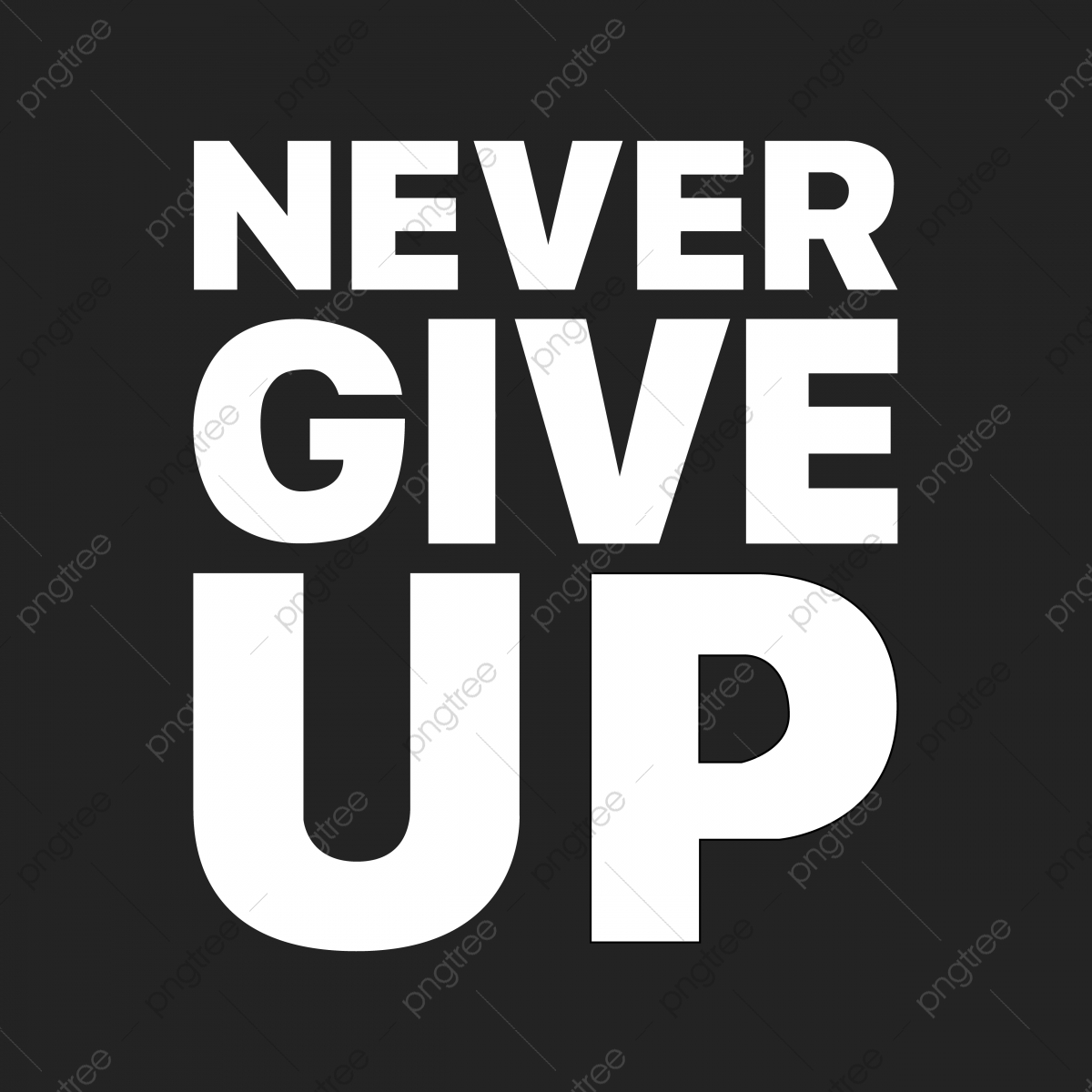 The Never Give Up Sentence That Was Popularized By One Soccer Player From Liverpool Font Effect EPS For Free Download