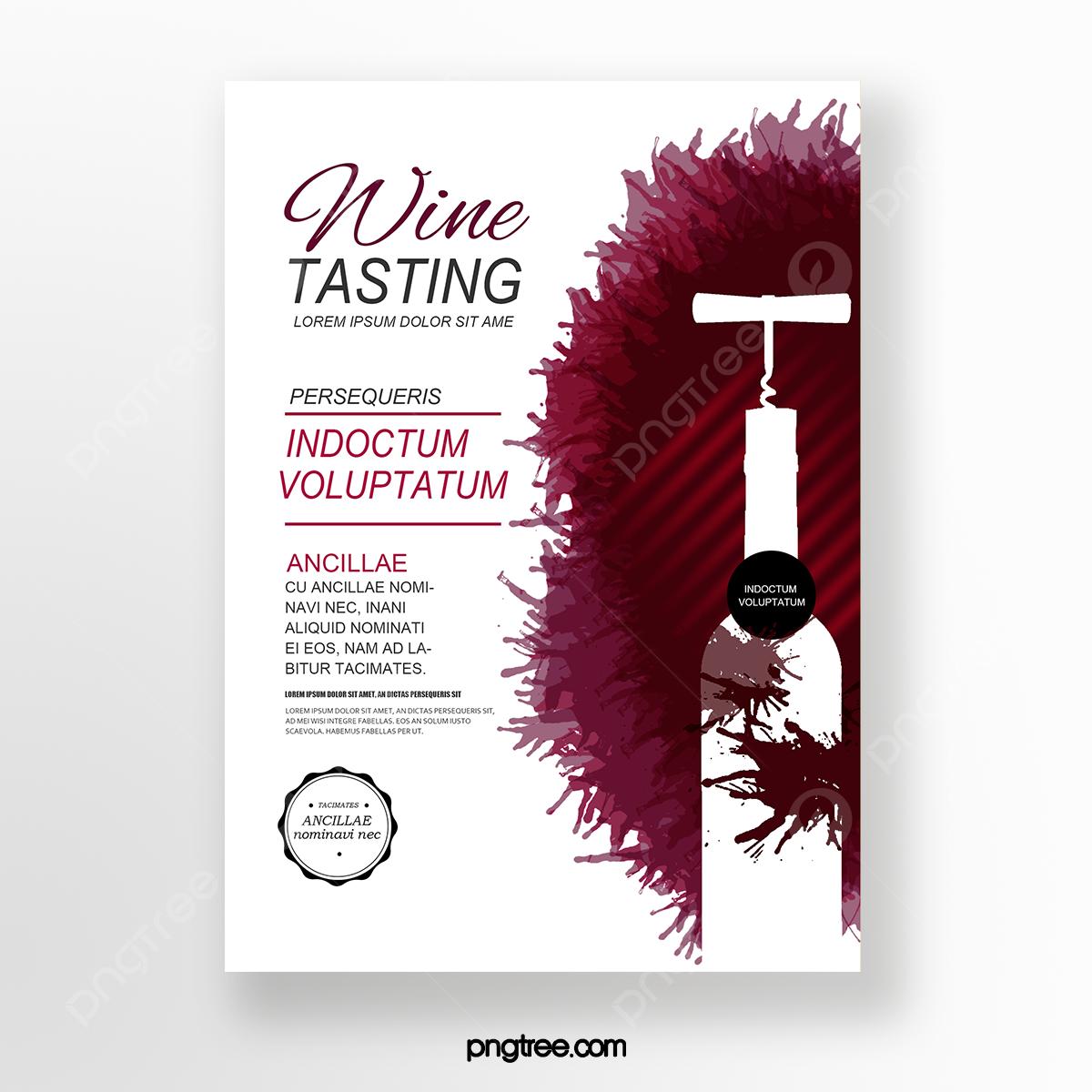 Invito Evento Degustazione Vino Bottiglia Bottiglia Di Vino Modello Per Il Download Gratuito Su Pngtree