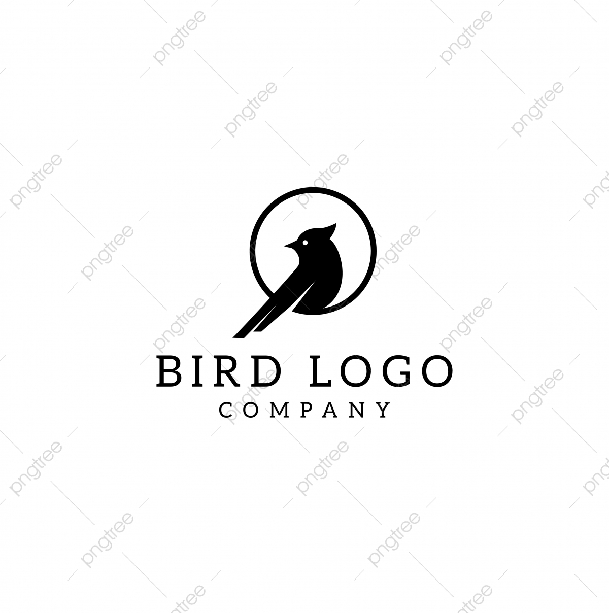 bird in the ring logo design vector template for free download on pngtree ring logo design vector template